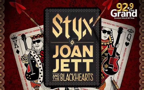 Styx and Joan Jett & The Blackhearts