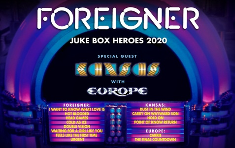 CANCELLED: Foreigner